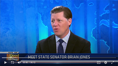State Senator Brian Jones hosts meet and greet at new district office (KUSI News)