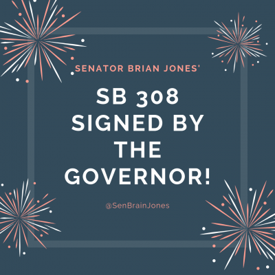 SB 308 Signed by Governor