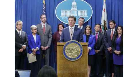 California Legislative Jewish Caucus Press Conference 1
