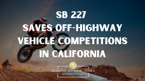 SB277 Off Highway Vehicle Competition